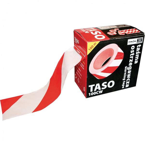 Warnband - Signalband - TASO100 - 100m - Rot und Weiß