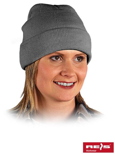 Wintermütze - BAW - 100% Acrylgarn - Grau