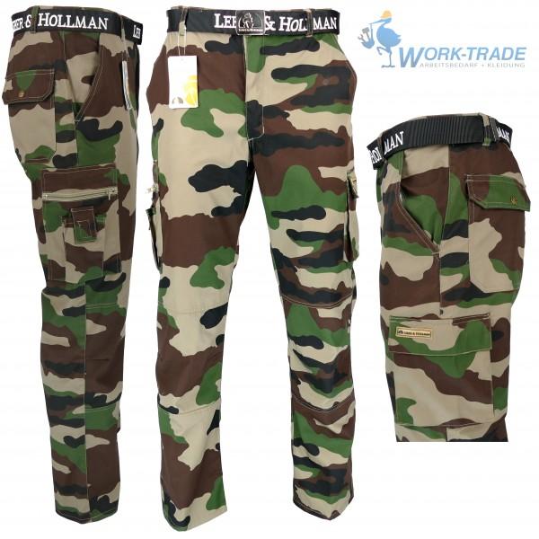 Arbeitshose - Shorts - Anglerhose - Försterhose - Camouflage