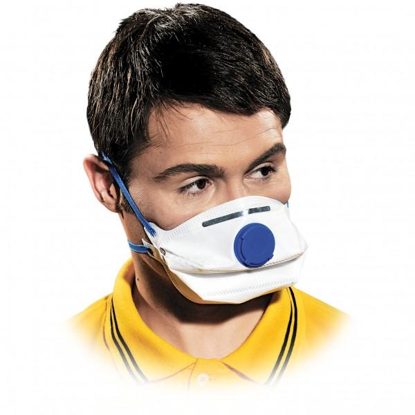 Einwegmaske - MAS-W-FFP2V - 10er Pack - Mit Ventil