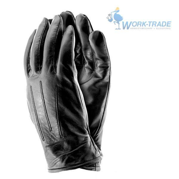 Lederhandschuhe - Winterhandschuhe - Arbeit & Freizeit - Schwarz