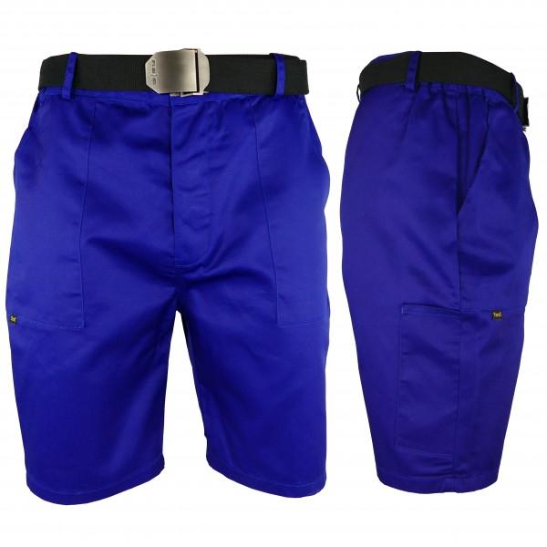 Arbeitshose - YESTS - Shorts - Blau