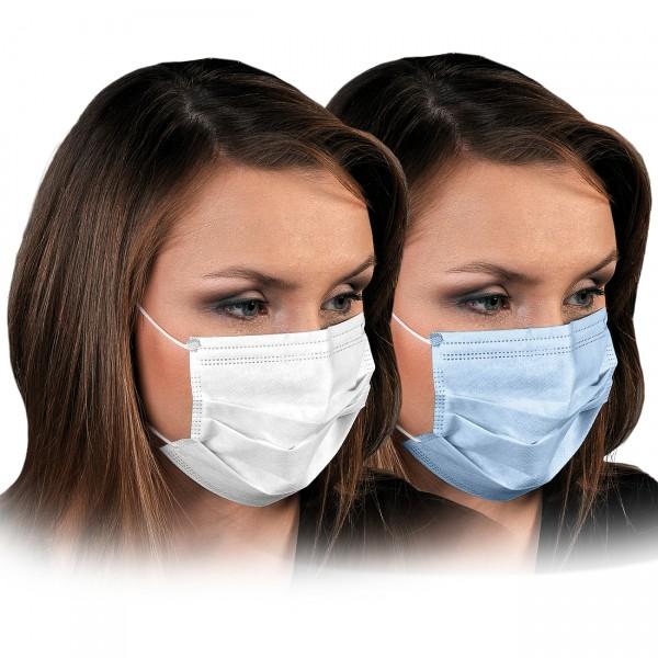 Einwegmaske 50 STÜCK IM PAKET 3-lagig Mund- Nasen- Schutz- Maske Hygienemaske