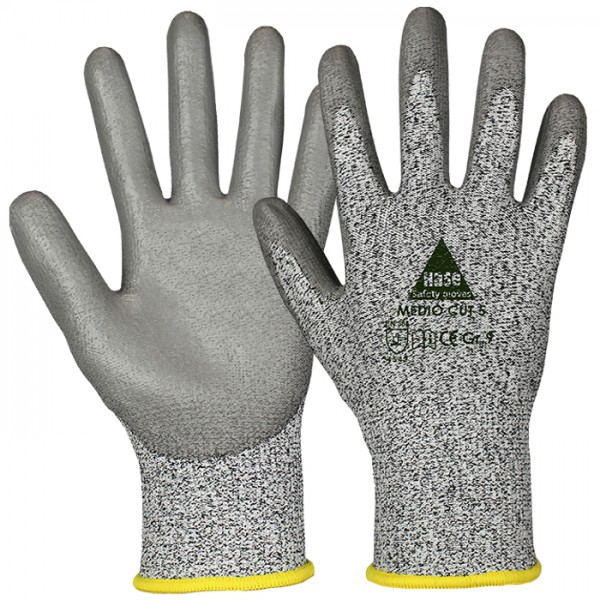 Schnittschutzhandschuhe - HASE - Medio Cut 5 - 10 PAAR - Level 5