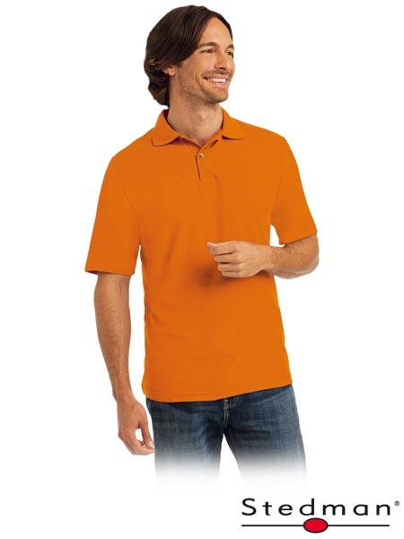 Herren-Polohemd - ST3000 - 100% Baumwolle - Orange