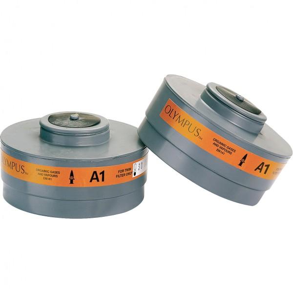 Gasfilter - MIDI-A1 - 1 Paar - Typ A - Klasse 1 - JSP - Made in UK
