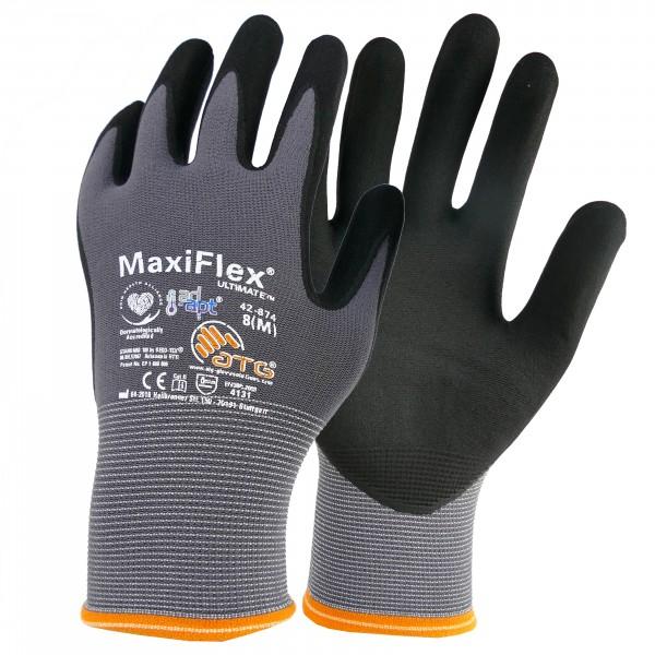 "Nylon-Strickhandschuhe ""MaxiFlex® Ultimate™ AD-APT®"" - Nitril"