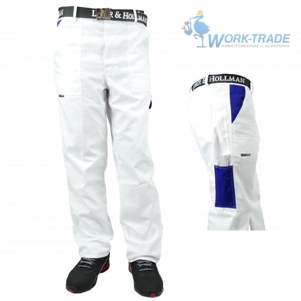 Arbeitshose - MMSP - Weiß und Blau