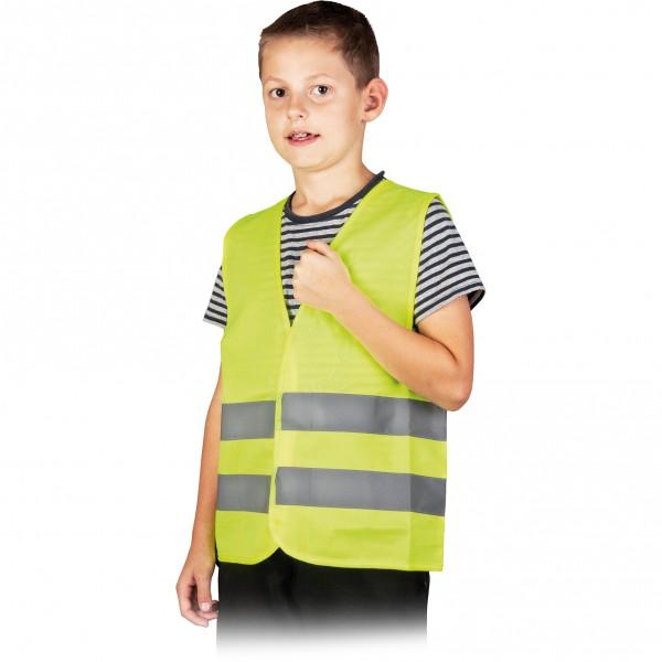 Warnweste - Kinder - KOSKIDS - Gelb