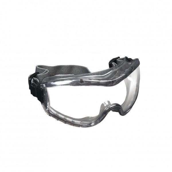 5x Vollsichtbrille, Schutzbrille - MCRSTRYKER - ANTIFOG - Grau