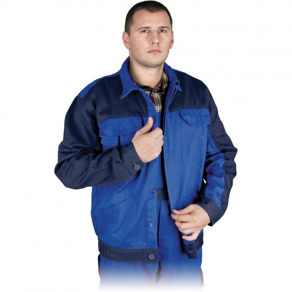 Arbeitsjacke - Bomull - Blau - 100% Baumwolle