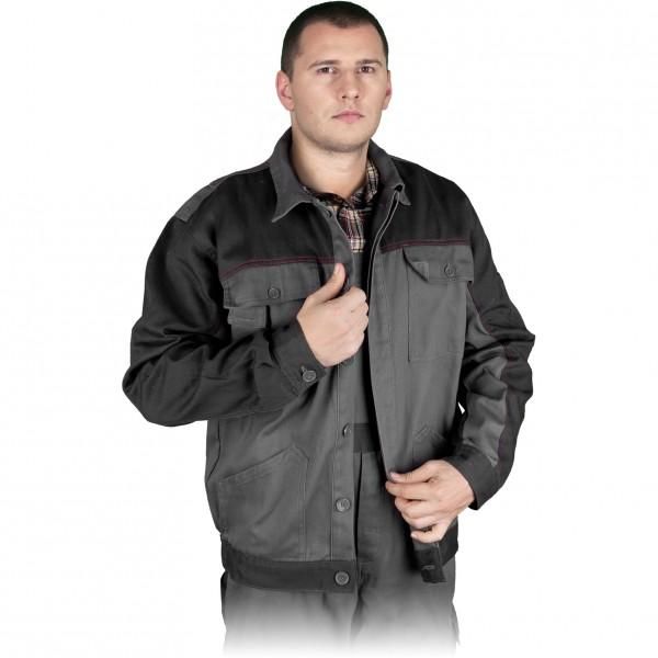 Arbeitsjacke - Bomull - Grau - 100% Baumwolle