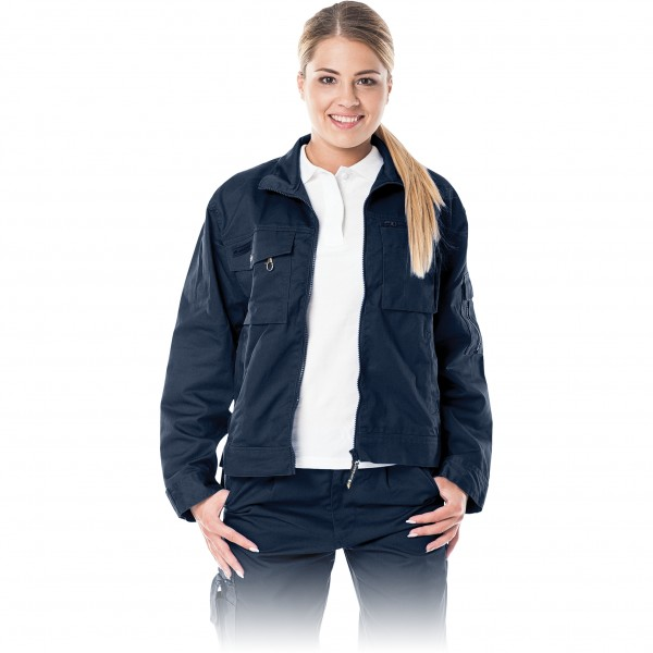 Arbeitsjacke Damen - Leber & Hollman - Dunkelblau