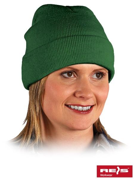 Wintermütze - BAW - 100% Acrylgarn - Dunkelgrün