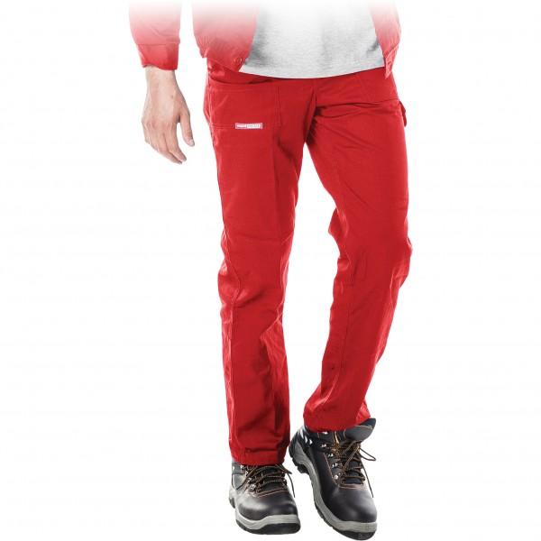 Arbeitshose - SPM - Master - Rot
