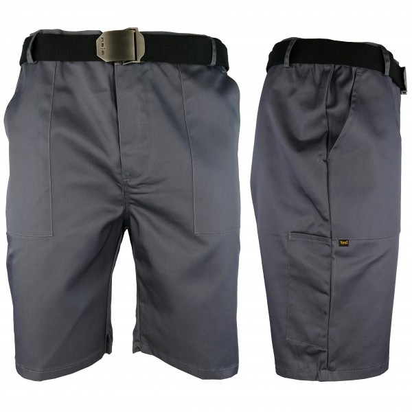 Arbeitshose - YESTS - Shorts - Grau
