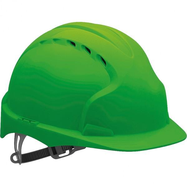 Schutzhelm - KAS-EVO2 - HDPE-Kunststoff - JSP - Made in UK - Grün