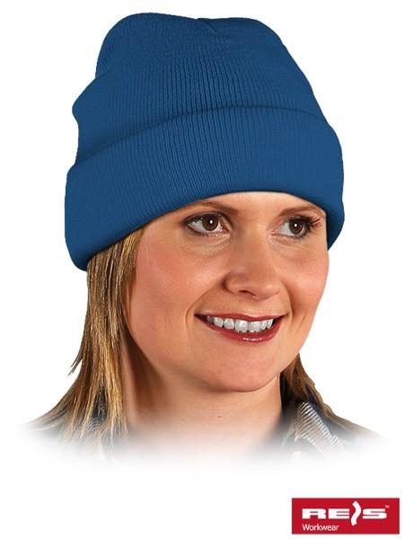 Wintermütze - BAW - 100% Acrylgarn - Blau
