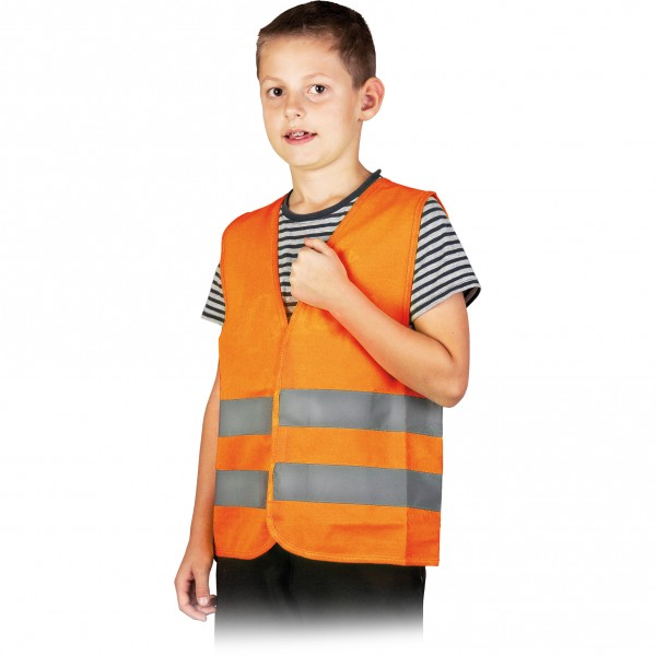 Warnweste - Kinder - KOSKIDS - Orange