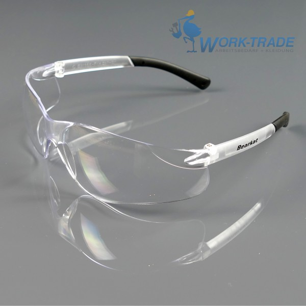 10x Schutzbrille - MCRBEARKAT-T - UV Schutz - Polycarbonat