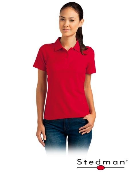 Damen-Polohemd - ST3100 - 100% Baumwolle - Rot