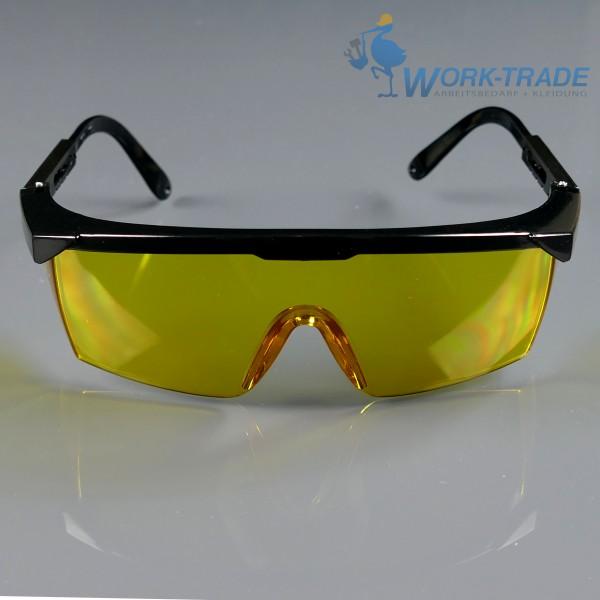 12 Stück Schutzbrille - EBL - Getönte Scheiben - Optische Klasse 1