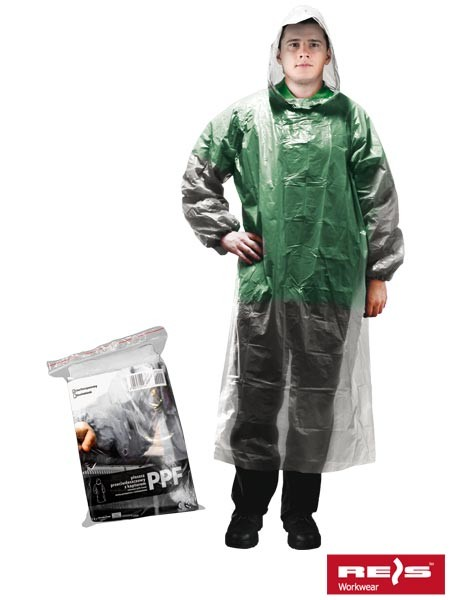 Regenmantel - PPF - Transparent