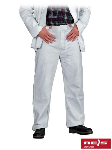 Lederhose - SSB - Schweißerhose - Weiß
