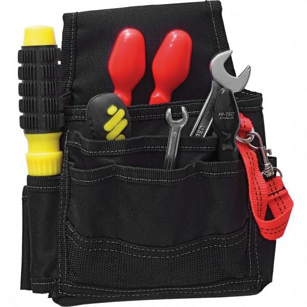 Werkzeugtasche - TORPOK - Mit Metallclip - Schwarz