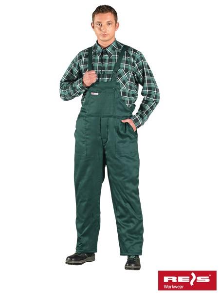 Winter-Arbeitslatzhose - SMO - Grün