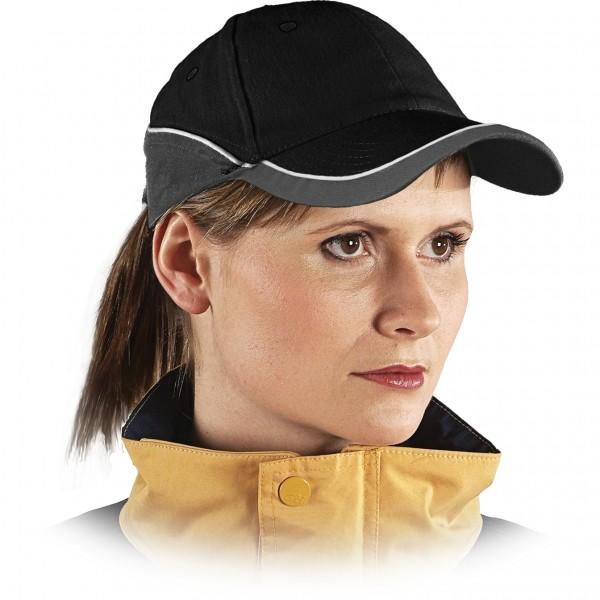 Cappy - Kappe - CZT - Modernes Design Schwarz Grau Weiß