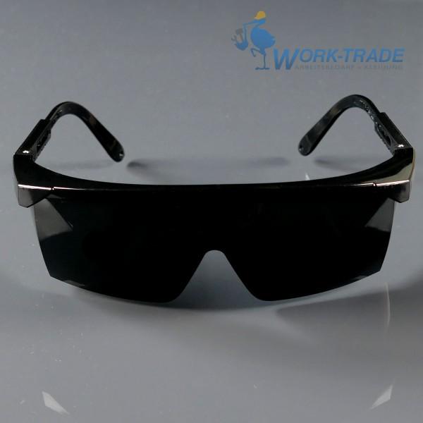 12 Stück Schutzbrille - FRAMEB-DARK - Getönte Scheiben