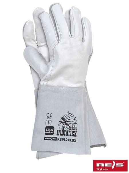 3 Paar Schweißerhandschuhe - RSP - Rindsleder - Gr. 11