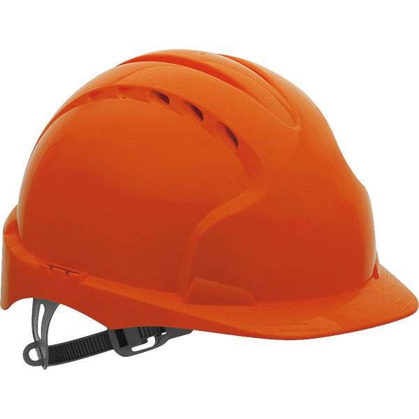 Schutzhelm - KAS-EVO2 - HDPE-Kunststoff - JSP - Made in UK - Orange