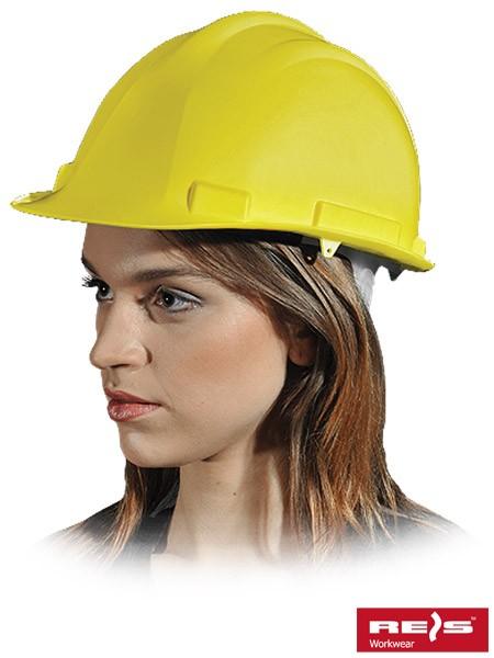 Schutzhelm - UKAS - Gelb