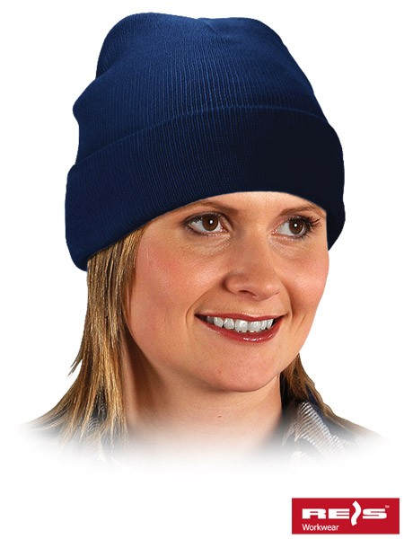 3x Wintermütze - BAW - 100% Acrylgarn - Dunkelblau