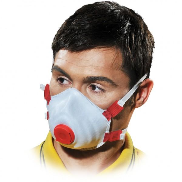 Einwegmaske - MAS-M-FFP3DV - 10er Pack - Mit Ventil