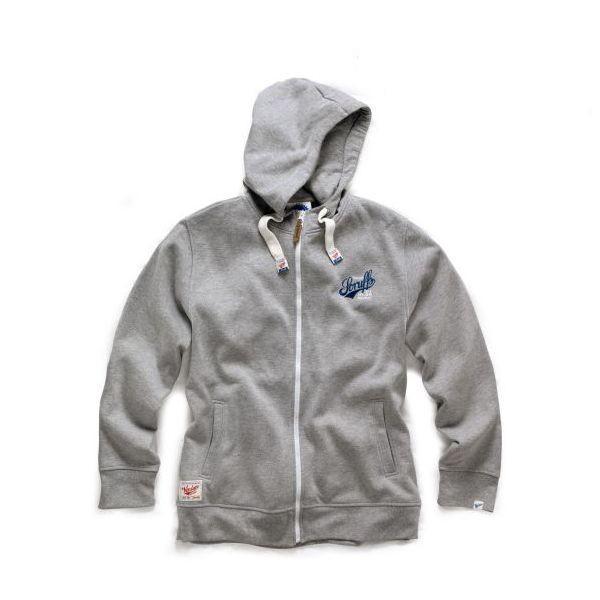 Vintaged Lined Hoodie - Sweatshirt-Jacke - SCRUFFS - Grau