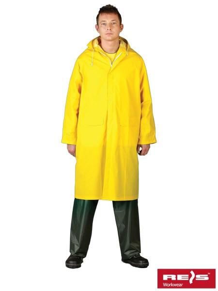 Regenmantel - PPD - Gelb