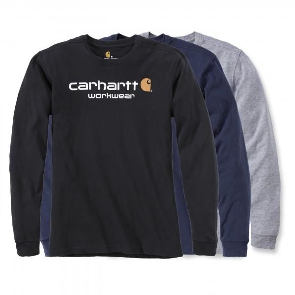 Carhartt Langarmshirt - Core Logo ( Bitte Größentabelle beachten! )