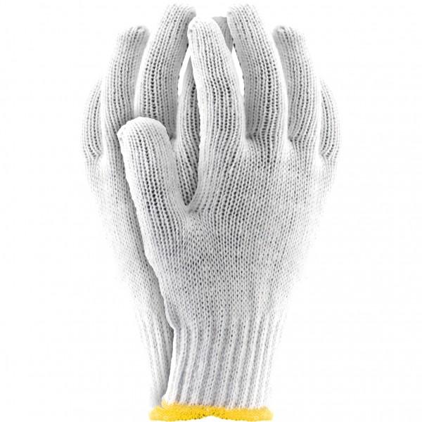 Arbeitshandschuhe - RDZ - 75% Baumwolle - 25% Polyester - Weiß - Gr. 10