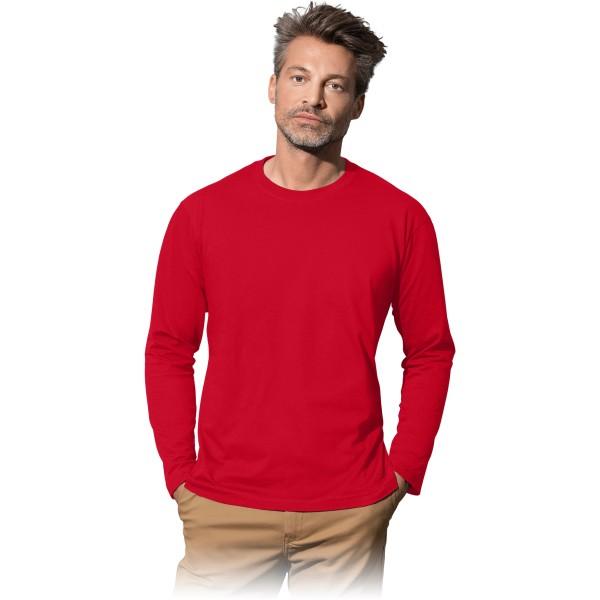 Langarmshirt - ST2500 - 100% Baumwolle - Rot