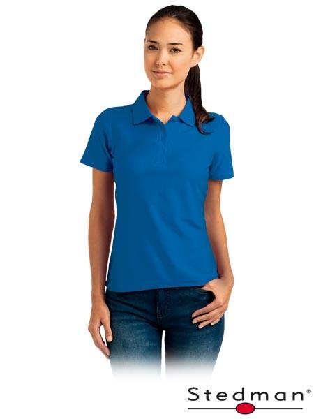 Damen-Polohemd - ST3100 - 100% Baumwolle - Blau