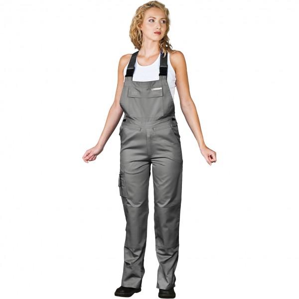 Arbeitslatzhose Damen - Leber & Hollman - Grau