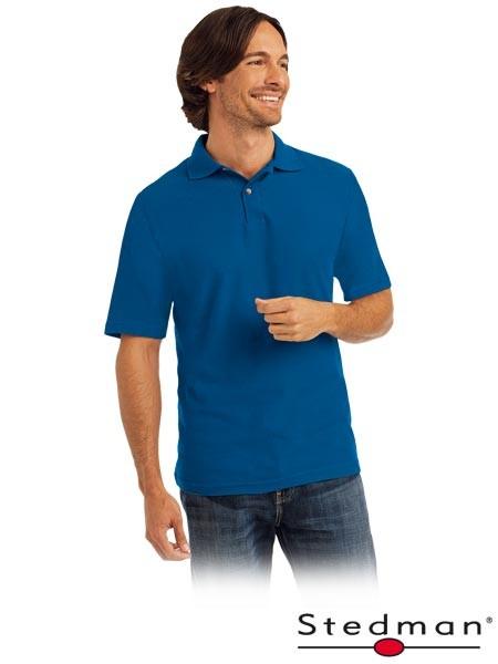 Herren-Polohemd - ST3000 - 100% Baumwolle - Blau