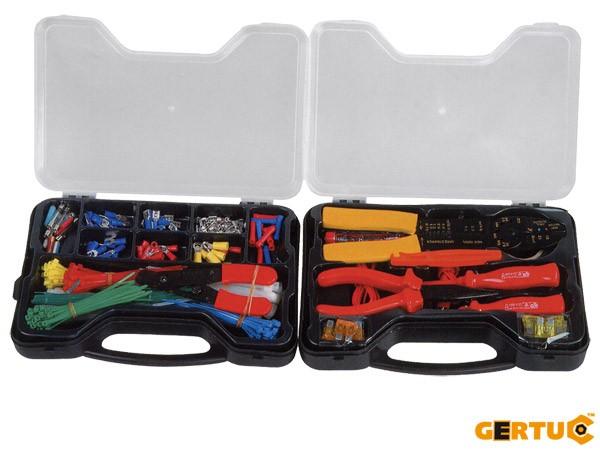 Werkzeugset - GDIY - Elektroarbeiten - 399 Teile