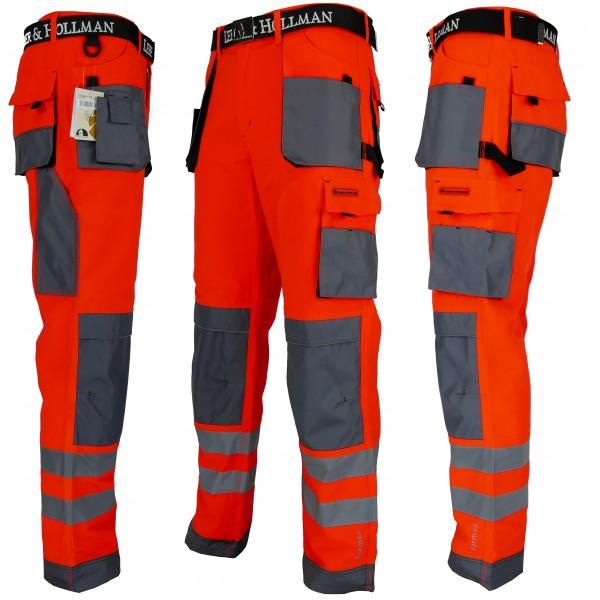 Arbeitshose - LHXT - Leber & Hollman - Rot / Grau