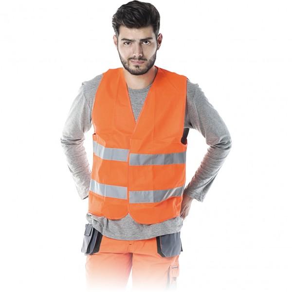 Warnweste - KOS5-P - Orange