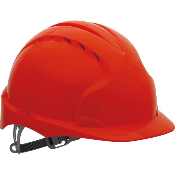 Schutzhelm - KAS-EVO2 - HDPE-Kunststoff - JSP - Made in UK - Rot