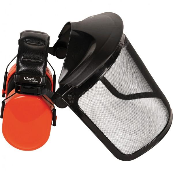 Kapselgehörschutz mit Visier - BUSHMASTER - SNR 30dB